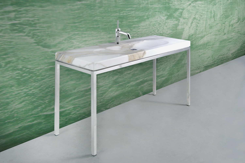 Mobile bagno lavabo in marmo designer leonardo de carlo