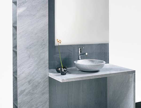 Pareti attrezzate arredo bagno rivestimento pareti in marmo