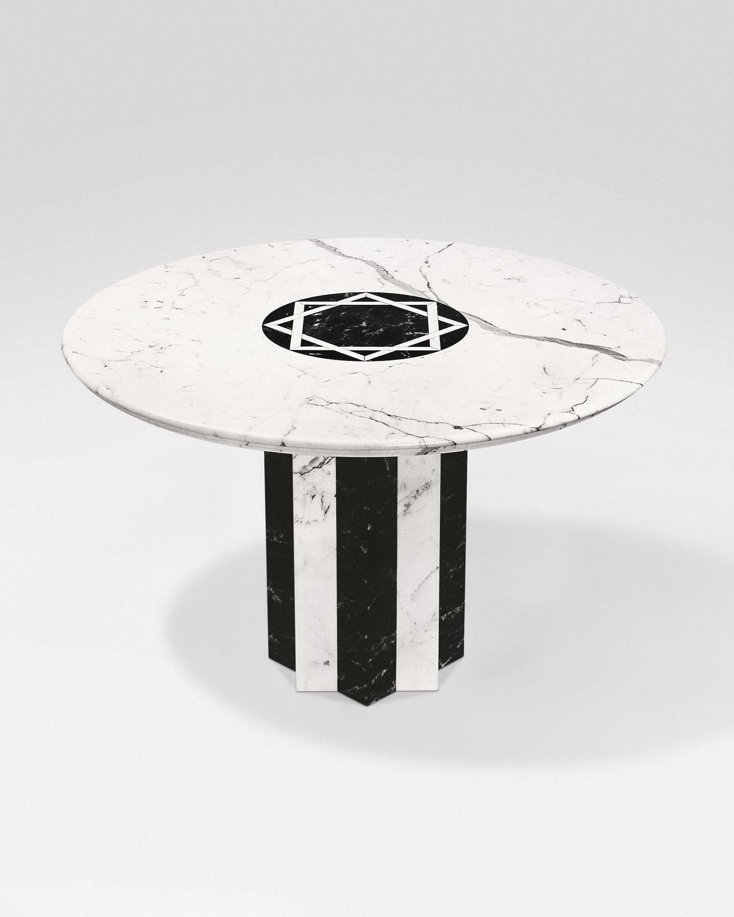 Astra Tavolo In Marmo Architetto Adolfo Natalini Cm 180x130 Ovale