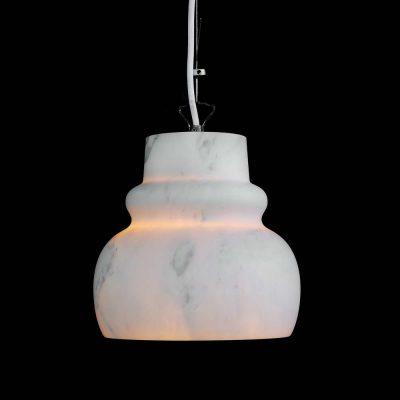 Wentworth - lampada in marmo a sospensione