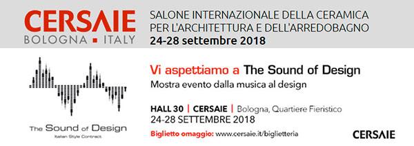 Cersaie 2018 Bologna Salone Internazionale Ceramica per Architettura e Arredobagno