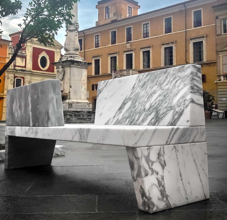Panche in marmo_Bipanca_Adolfo Natalini_art. _02