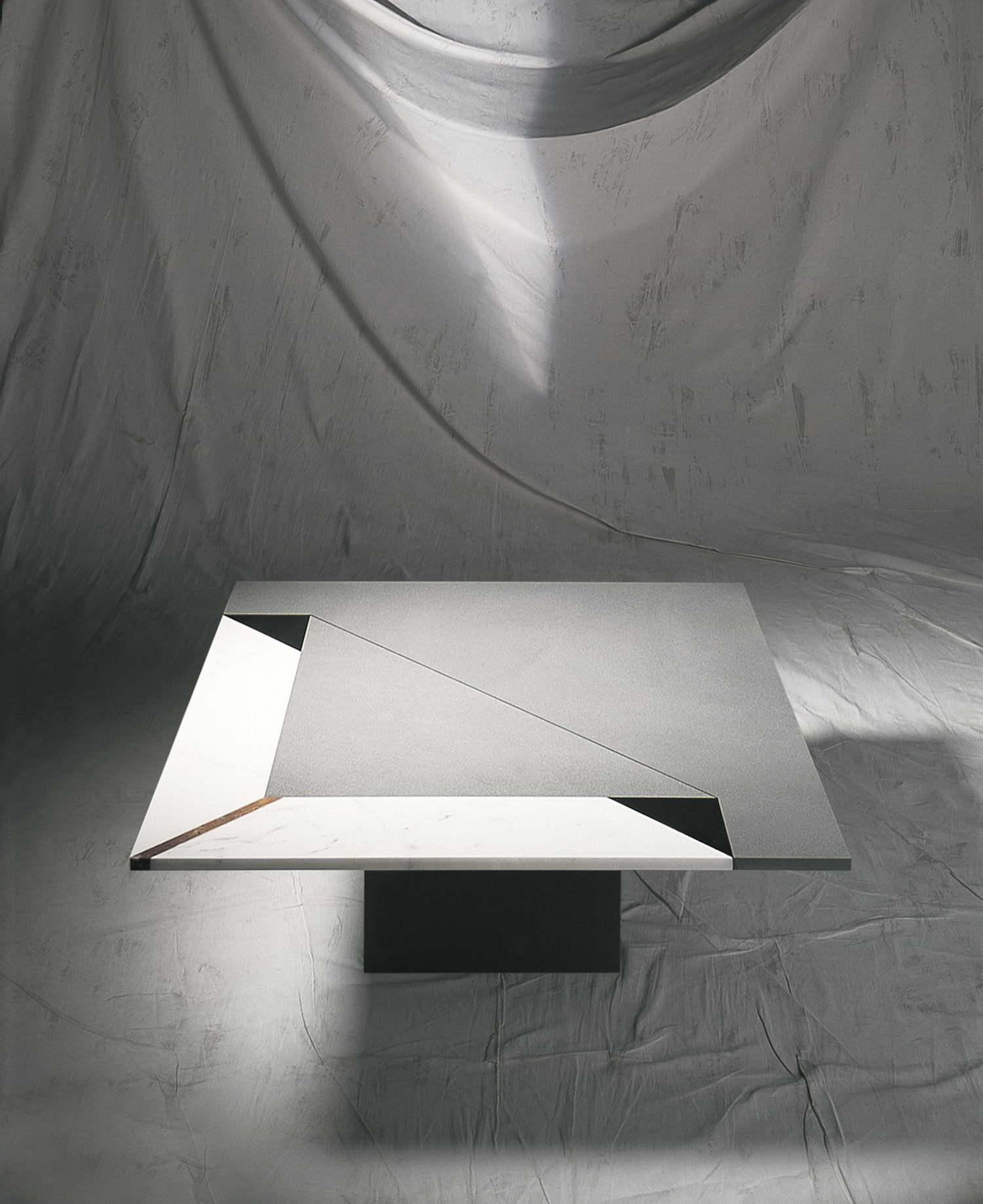 Tavoli in marmo_Intarsia Fold_R. Littel_art. 186