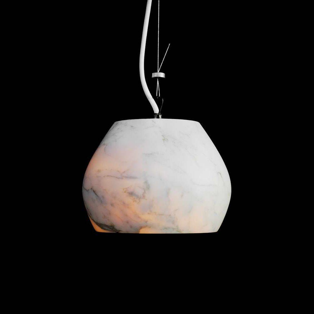 CHARLOTTE - lampada in marmo a sospensione