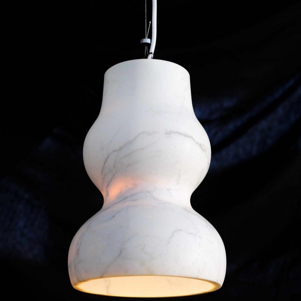 DORCHESTER - lampada in marmo