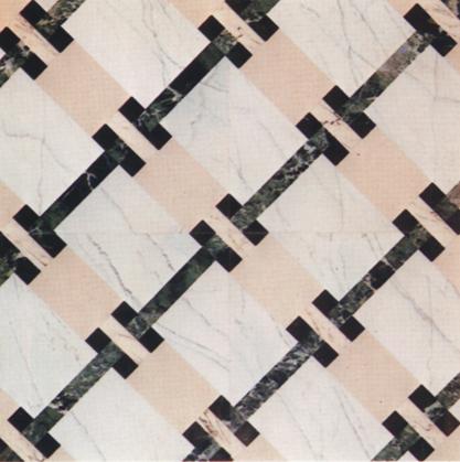 INTRECCIO pavimento in marmo